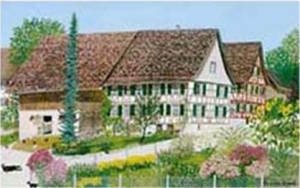 Karte mit Kuvert 'Alterswilen' 17x12 cm