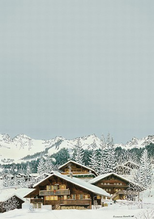 SET 10 x Stationery 'Les Diablerets'